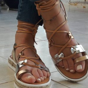 Greek handmade sandals