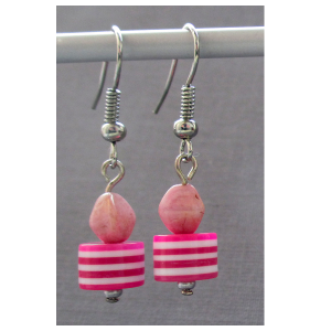 featuresworld-earrings-czech-acrylic-beads-silver-plated-hook-003