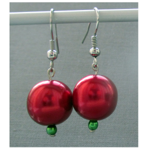 featuresworld-earrings-czech-beads-silver-plated-hook-002