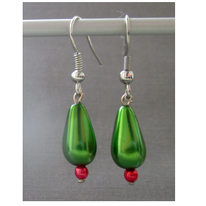 featuresworld-earrings-preciosa-beads-silver-plated-hook-009